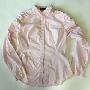 The Limited Light Pink Long Sleeve Shirt Size L